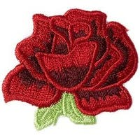 Rose - Iron-On Appliques