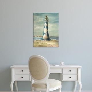 Easy Art Prints Danhui Nai's 'Lighthouse IV' Premium Canvas Art
