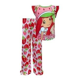 Strawberry Shortcake Girls 4-8 Pajama Set