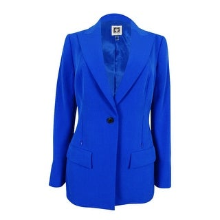 Anne Klein Women's Single Button Blazer