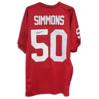 Ron Simmons Florida State Seminoles Autographed Red Jersey