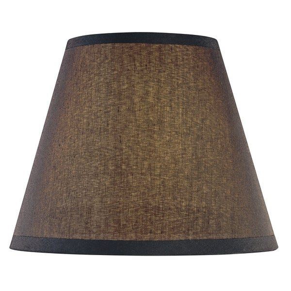 Minka Lavery SH1963 Single Optional Fabric Shade from the Federal Restoration Collection - Black