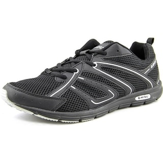 Hi-Tec Darwen Men Round Toe Synthetic Black Sneakers