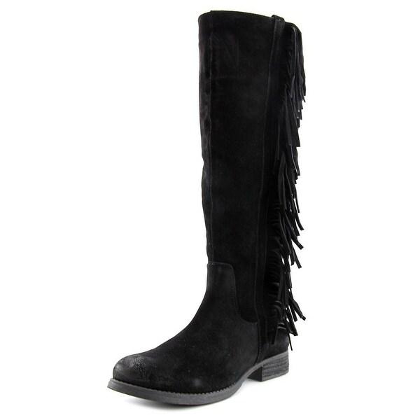 Steven Steve Madden Daltton Women Black Boots