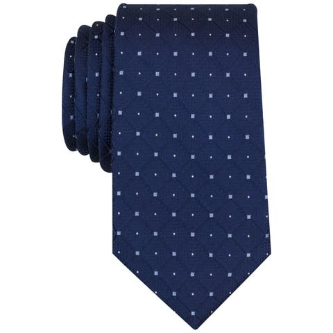 Nautica Mens Orust Self-Tied Necktie - One Size