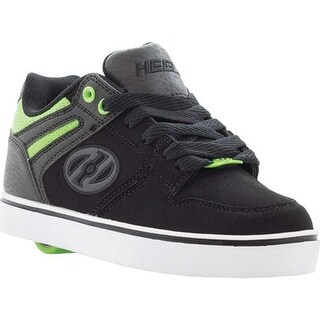 Heelys Children's Motion 2.0 Roller Shoe Black/Bright Green