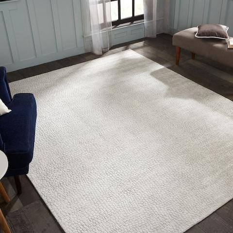 Handmade Renzo Mosaic Area Rug