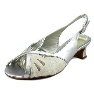 Easy Street Ilana Women WW Open-Toe Synthetic Slingback Heel