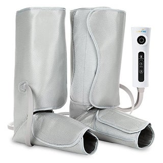 LiveFine Air Leg Compression Massager - Electric Foot & Calf Massage Wraps with Handheld Controller