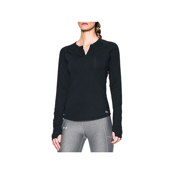 Shop Under Armour Womens 14 Zip Pullover Yoga Fitness Free