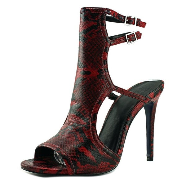 Hardy Elie Women Red/Black Sandals