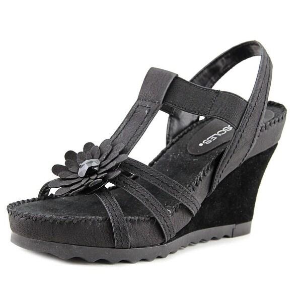 Aerosoles Cottontail Women Black Sandals
