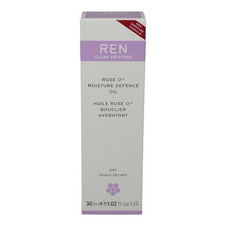 REN Skincare Rose O12 Moisture Defence Serum, 1.02 Fluid Ounce
