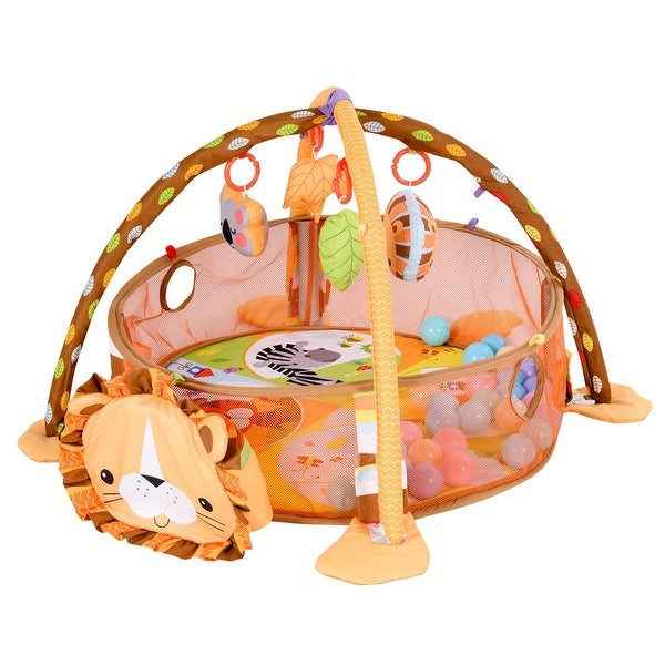 3 in 1 Cartoon Baby Infant Activity Gym Play Mat - Multi-Color. Opens flyout.
