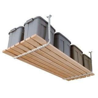 Hyloft 80842-10 Ceiling Storage Rack, 200 lbs, White