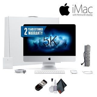 "Apple iMac 27"", 3.4 GHz Intel Core i5, 8GB RAM, Bundle With Warranty"