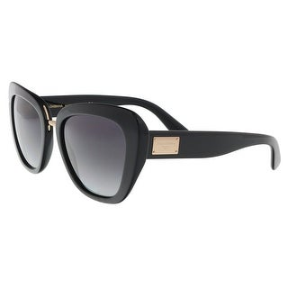 Dolce & Gabbana DG4296 501/8G Black Butterfly Sunglasses - 53-20-140