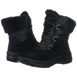 Link to Bare Traps Womens Aero Leather Round Toe Ankle Cold Weather Boots Similar Items in Women's Shoes