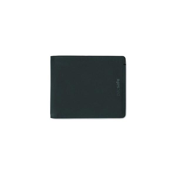 Pacsafe RFIDsafe TEC Bifold - Black RFID Blocking Slim Wallet w/ 13 Card Slots