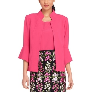 Link to Tahari Womens Bell Sleeve Blazer Jacket Similar Items in Suits & Suit Separates