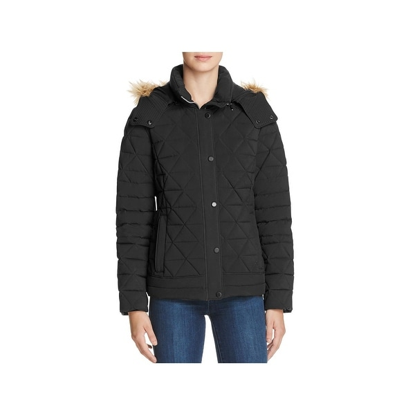 f296afc1023 Shop Marc New York by Andrew Marc Womens Tess Quilted Coat Winter ...