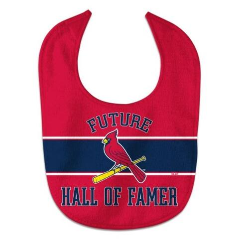 St. Louis Cardinals Baby Bib All Pro Style Future Hall of Famer