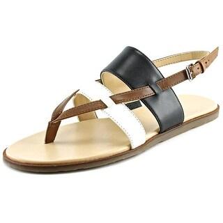 Via Spiga Amy Open Toe Leather Sandals