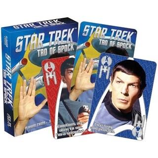 Star Trek Tao of Spock Licensed Playing Cards - Standard Poker Deck - MultiColor