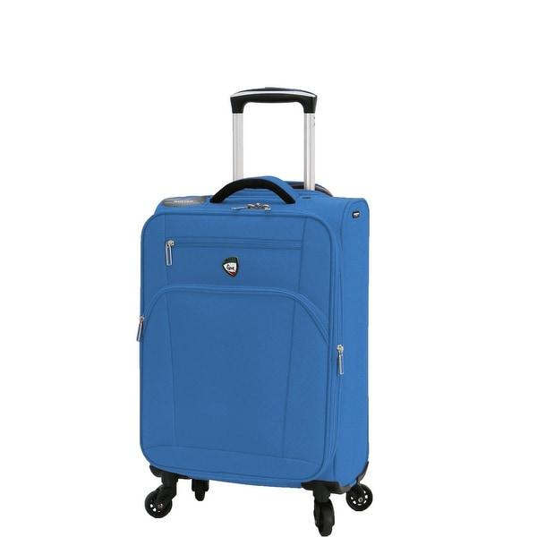 Blue Mia Toro Italy Leggero Softside Spinner Carry-on
