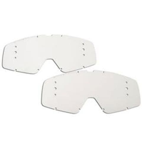Fox 2015 Replacement Lenses For Fox Racing Main Goggle Roll Off System (2 Pack) - 08186-901-OS