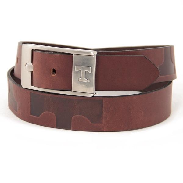 University of Tennessee Brandish Leather Belt