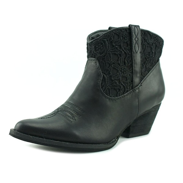 Very Volatile Libbylou Women Black Western Boots
