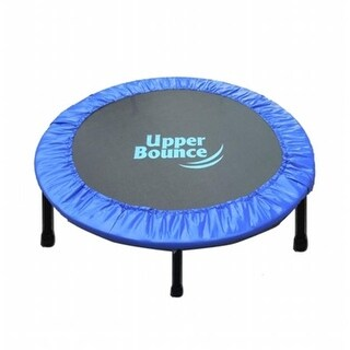 40 Two-Way Foldable Rebounder Trampoline with Carry-on Bag Included
