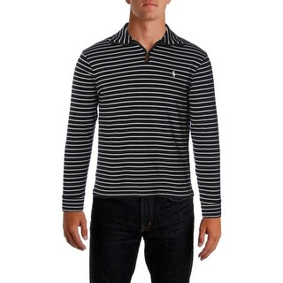 Polo Ralph Lauren Mens Pullover Sweater French-Rib 1/4 Zip