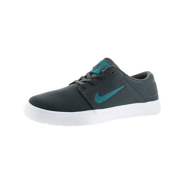 Nike Mens SB Portmore Ultralight Skate Shoes Mesh Breathable - 4 medium (d)