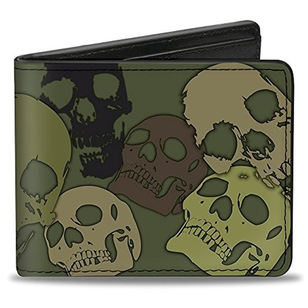 Buckle-Down Bifold Wallet Camo
