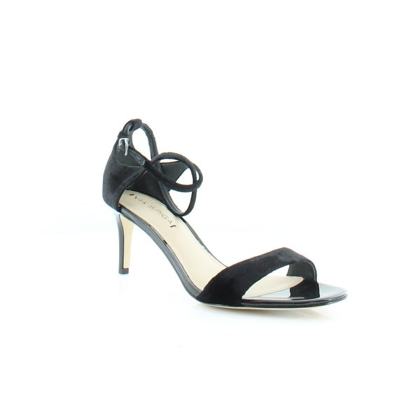 61dc49876de Shop Via Spiga Leesa Women s Heels Black - Free Shipping On Orders ...