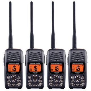 Standard Horizon HX300 (4 Pack) Floating Handheld VHF
