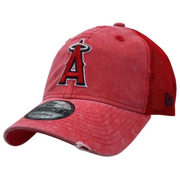 fb31dd4c208d Shop New Era 2019 MLB Anaheim Angels Baseball Cap Hat Tonal Washed 9Twenty  Adjust - Free Shipping On Orders Over  45 - Overstock - 27093342