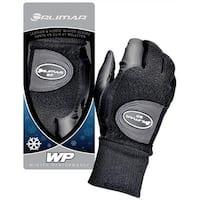 Orlimar Men's Winter Performance Fleece Golf Gloves (Pair), Black, Medium