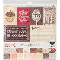 """Authentique Collection Kit 12""""X12""""-Bountiful"""