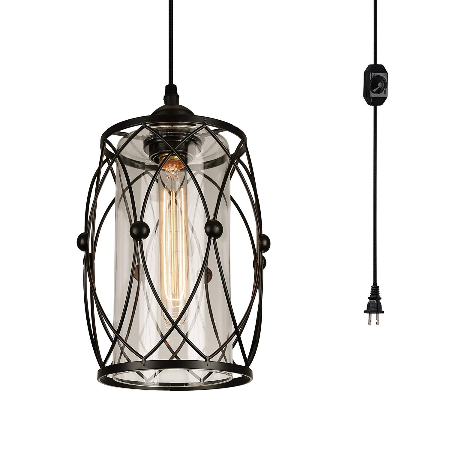 15ft Trouble Light Metal Cage