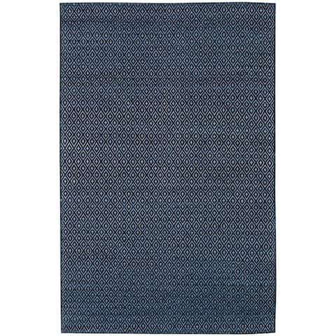 Addison Prism Diamond Flat Weave Wool Area Rug