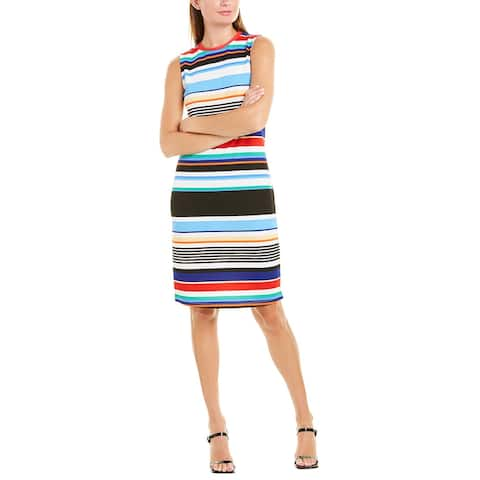 Tiana B Textured Shift Dress
