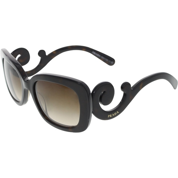 389b89c168 Prada Women  x27 s Gradient PR27OS-2AU6S1-54 Tortoiseshell Rectangle  Sunglasses