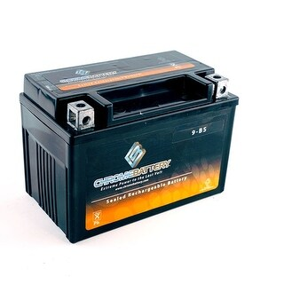 YT9B-BS Sealed AGM 12V 115CCA Battery for Scooter, ATV and UTV