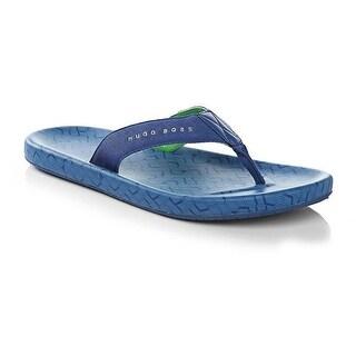 Hugo Boss Shoreline Sunshine Blue Rubber Flip Flops Sandals (6/7)