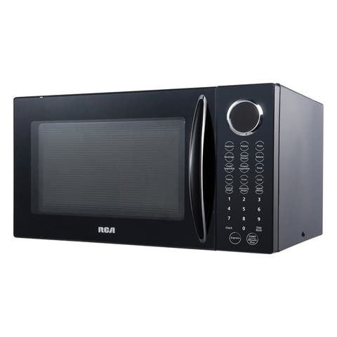 Rca rmw953-black .9 cubic-ft 900-watt microwave