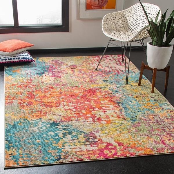 Safavieh Madison Milene Vintage Abstract Rug. Opens flyout.