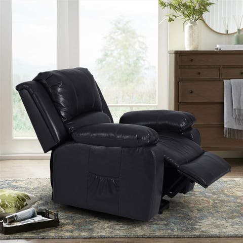 Sophia & William Electric Power Lift Recliner Chair Sofa for Elderly, Contemporary Heated Vibration Massage Living Room Chair